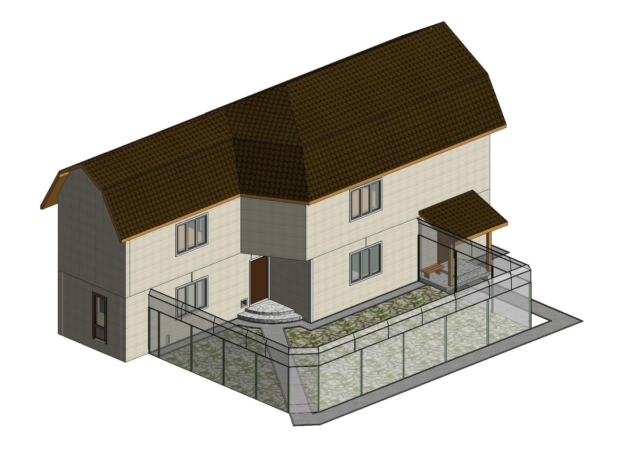 01)-Реконструируемый приют без газона
